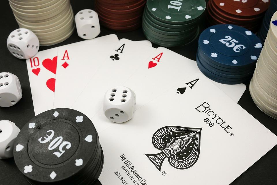 Playing Poker Game